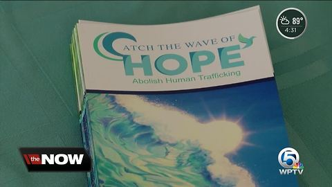 Catch the Wave of Hope helping human trafficking victims