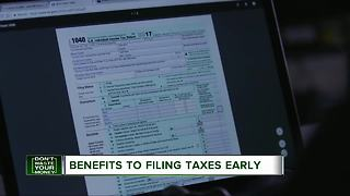 Why it's best not to wait to file your taxes - Video