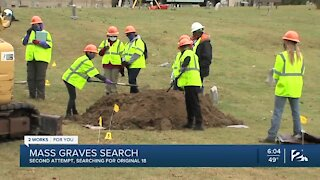 Second test excavation in 1921 Tulsa Race Massacre graves search begins