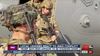 Local leaders react to Iran-U.S. conflict