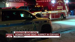 1 dead, 1 hurt in Oak Creek domestic violence incident - Video
