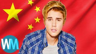 Top 10 Celebrities Banned from China - Video