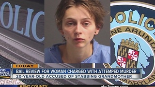 Bail review for woman accused of stabbing 82-year-old grandmother