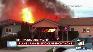 More information about plane crash in Clairemont - Video
