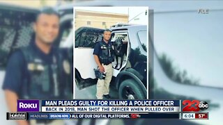 Man pleads guilty for killing police officer