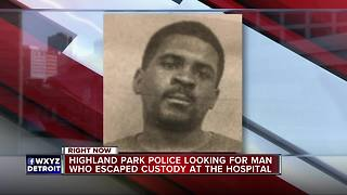 Highland Park police search for Person of Interest in murder who escaped custody - Video