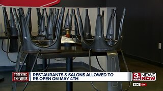 Restaurants & Salons Allowed to Re-open May 4