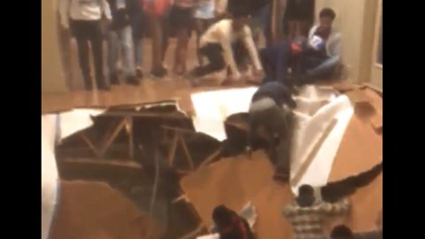 Footage Shows Moment Floor Collapses at South Carolina Party
