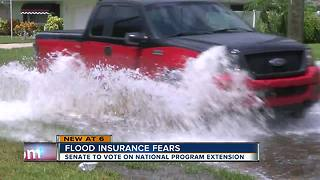 House passes flood insurance extension, now it's up to the senate - Video
