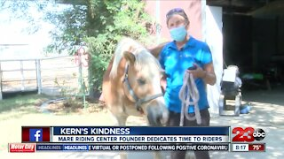 Kern's Kindness: MARE founder reflects on 30 years of providing equine therapy
