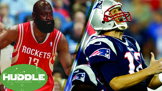 Are James Harden AND Tom Brady CURSED?! -The Huddle - Video