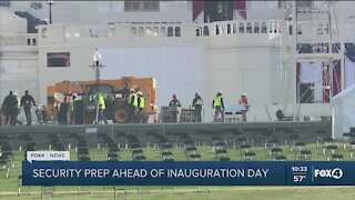 Inauguration prep underway