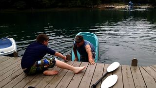 Paddle Boat Nope - Video