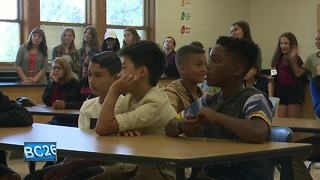First Day of School for Green Bay area public school district - Video