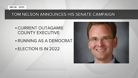 Tom Nelson announces his Senate campaign