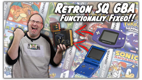 How To Install the Retron SQ Day 0 Patch & Fix GBA Performance Issues