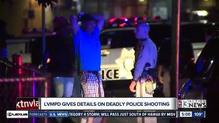 Metro gives details about deadly police shooting - Video