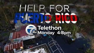 7 ABC to hold telethon for Puerto Rico Monday - Video