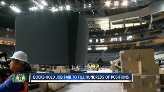 Milwaukee Bucks hold job fair Wednesday