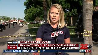 Man shot and killed in south Bakersfield