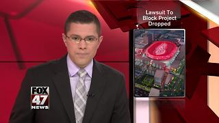 Lawsuit challenging public funding for Detroit arena dropped - Video
