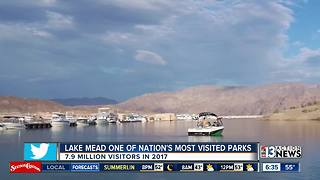 National Park Service: Nearly 7.9 million people visited Lake Mead in 2017 - Video