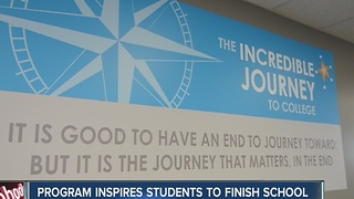 Starfish program inspires students to finish school - Video
