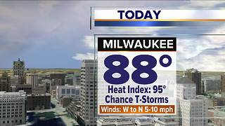 Meteorologist Brian Niznansky's Thursday afternoon Storm Team 4cast - Video