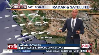 Triple digits return with rain chances in Kern County - Video