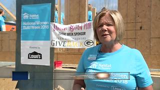 NBC26 helps build homes for Habitat for Humanity - Video