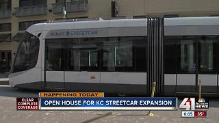 Open house for KC Streetcar expansion - Video