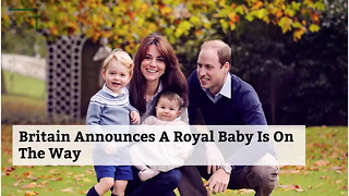 Britain Announces A Royal Baby Is On The Way - Video