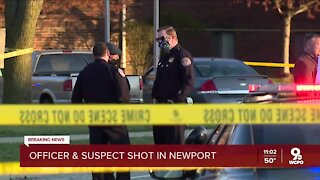 Covington Police officer, man hospitalized after shooting at Newport apartments
