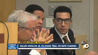 Kellen Winslow, Jr. to stand trial on rape charges - Video
