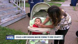 Could a new smoking ban be coming to WNY? - Video