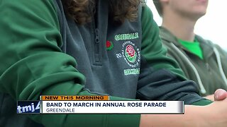Greendale High School band to march in Tournament of Roses Parade