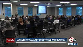 Grieving families learn the homicide investigation process - Video