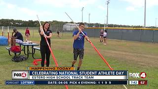 Honoring local students on National Student Athlete Day - 7:30am live report