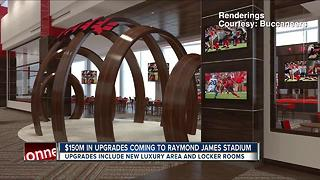 More upgrades announced for Raymond James Stadium - Video