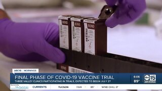 Final phase of COVID-19 vaccine trial