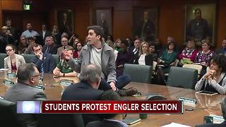 Students interrupt MSU Board of Trustees meeting - Video