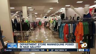Mannequins in Nazi salute? - Video