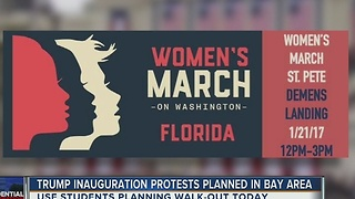Trump inauguration protests planned in Bay area - Video