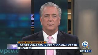 Driver charged with DUI after fatal crash into South Bay canal - Video