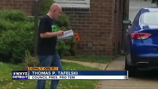 Dearborn fire chief caught in campaign controversy - Video