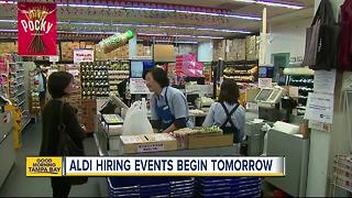 ALDI hosting multiple hiring events in Bay Area - Video