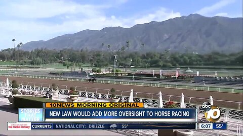 Proposed law would add regulations to horse racing