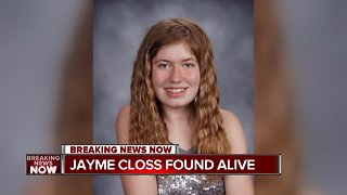Jayme Closs found alive and safe
