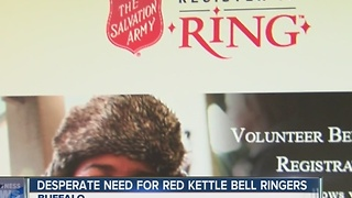 Salvation Army Volunteer Bell-ringers needed - Video