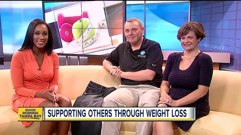 Weight loss support group plans first outing, bringing together online friends